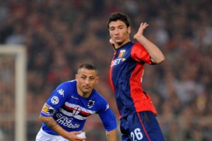 Genoa+CFC+v+UC+Sampdoria+Serie+n8wdfGrSscum