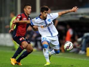 Genova, 20/10/2014 Serie A/Genoa-Empoli Iago Falque-Elseid Hysaj