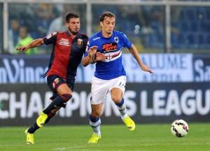 Genova, 28/09/2014 Serie A/Genoa-Sampdoria Stefano Sturaro-Manolo Gabbiadini