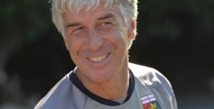 New Italian coach of Genoa CFC, Gian Piero Gasperini, during his first team training section, Genoa, Italy, 30 September 2013. ANSA/LUCA ZENNARO
