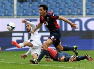 Genoa+CFC+v+Cagliari+Calcio+Serie+pMnsoeWiI0Al