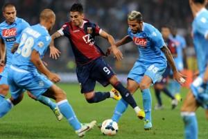 Genoa vs Napoli - Serie A Tim 2013/2014